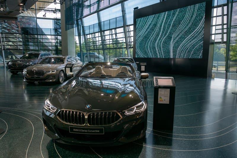 BMW-Wereld royalty-vrije stock foto