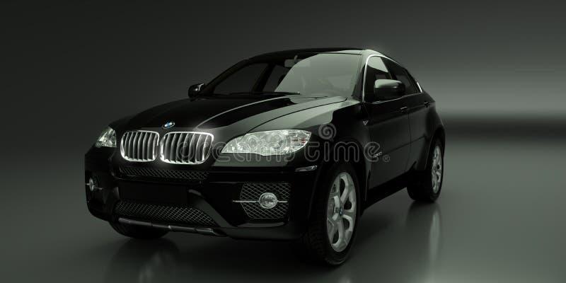 BMW X6 royalty-vrije illustratie