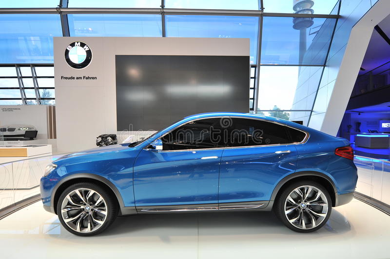 BMW X4 Concept On Display At BMW World Editorial Stock Image