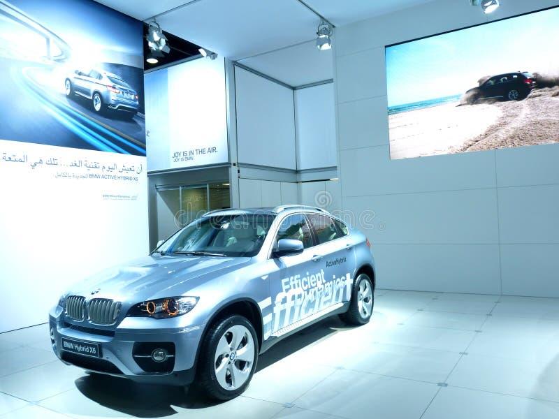 BMW X6 Hybrid stock image