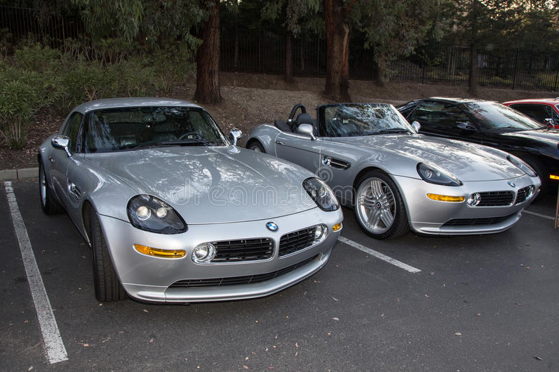 BMW Z8. Blackhawk Cars and Coffee Car Show in Danville Ca all Photos taken by Luigi Dionisio Feb 1 2015 stock photos