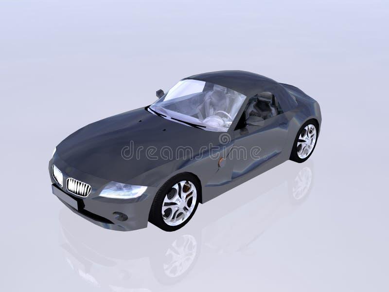 Bmw Z4 2.5 i sportscar. vector illustration