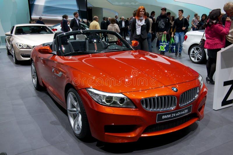 BMW Z4 2014 stock afbeelding
