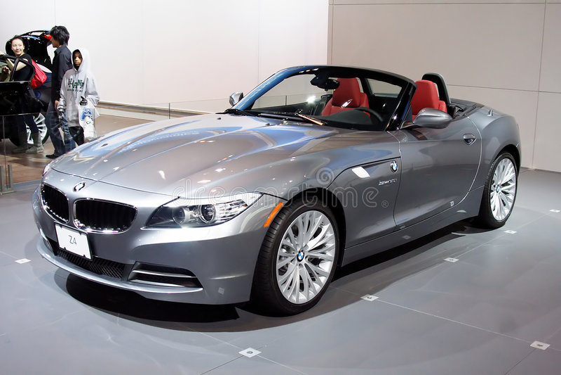 BMW Z4 fotografia stock