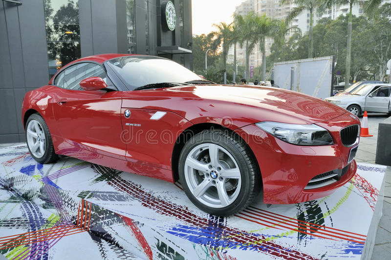 Download BMW Z4 Sports Car editorial photo. Image of shiny, shape - 19057671