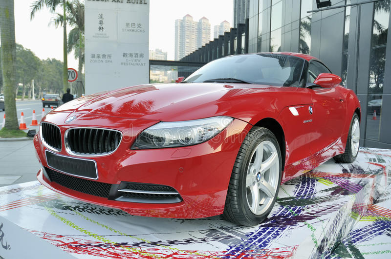 Bmw Z4 Sports Car Editorial Photo Image Of Luxury Shape