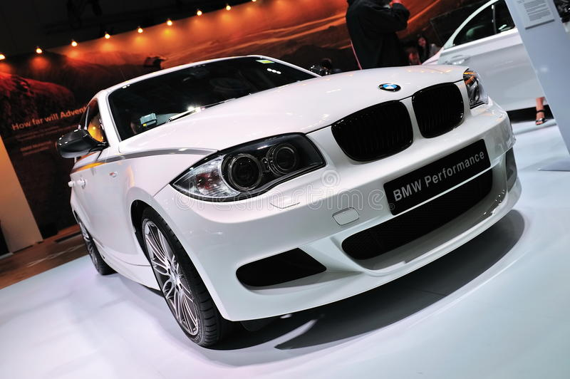 BMW120i Hatchback lizenzfreie stockfotos