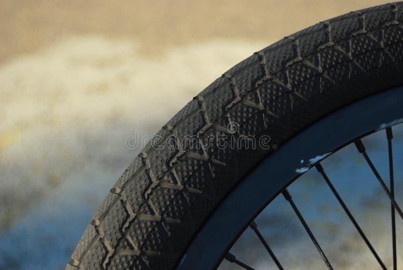 bmx轮胎 库存照片