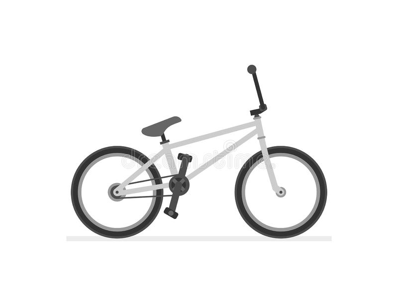 BMX Bike. Isolated on white background stock illustration