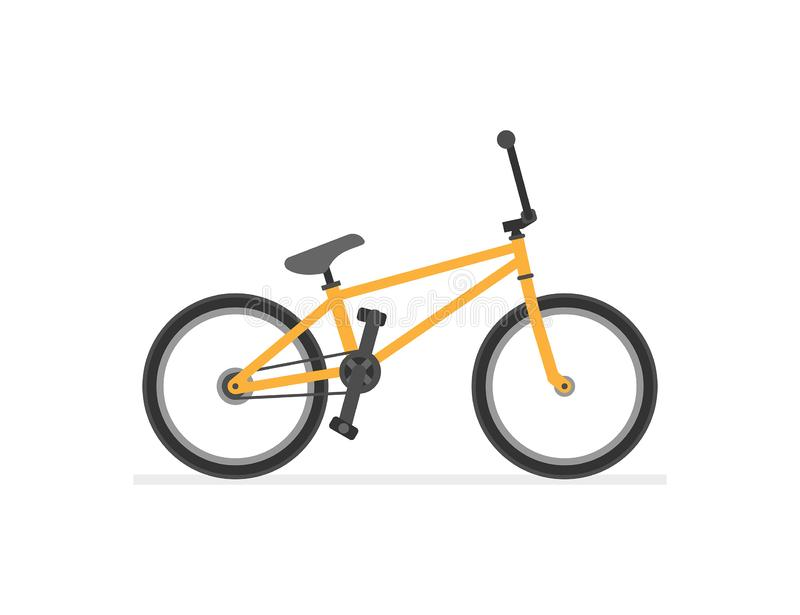 BMX Bike. Isolated on white background royalty free illustration