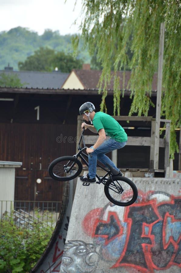 Download Bmx biker editorial stock image. Image of half, cycle - 26528934