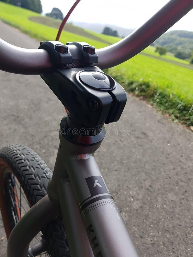 BMX Fahrrad lizenzfreie stockfotos