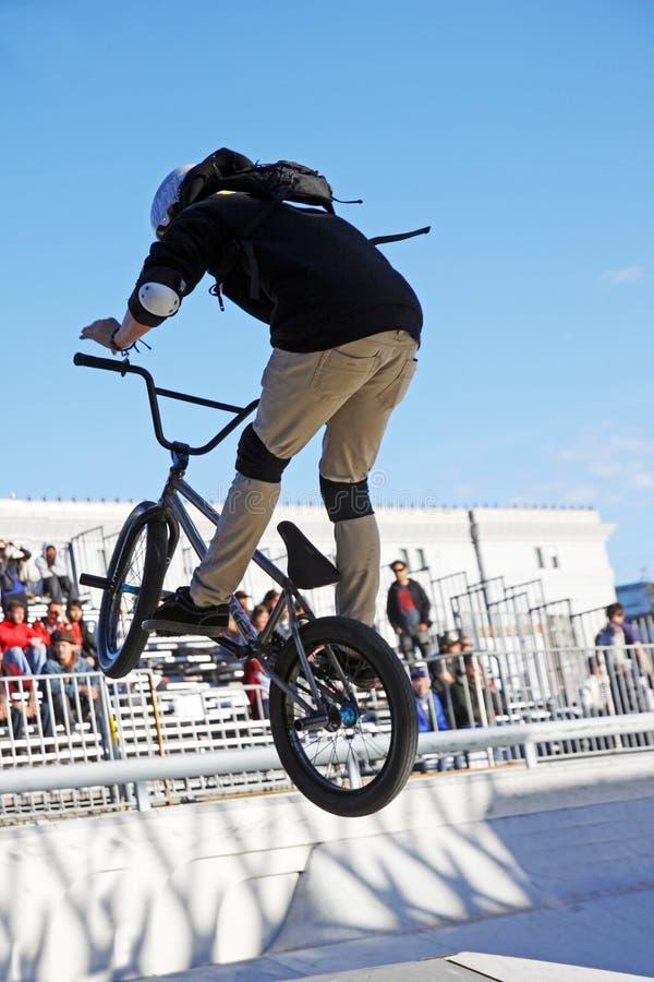 BMX-Fahrrad lizenzfreies stockbild
