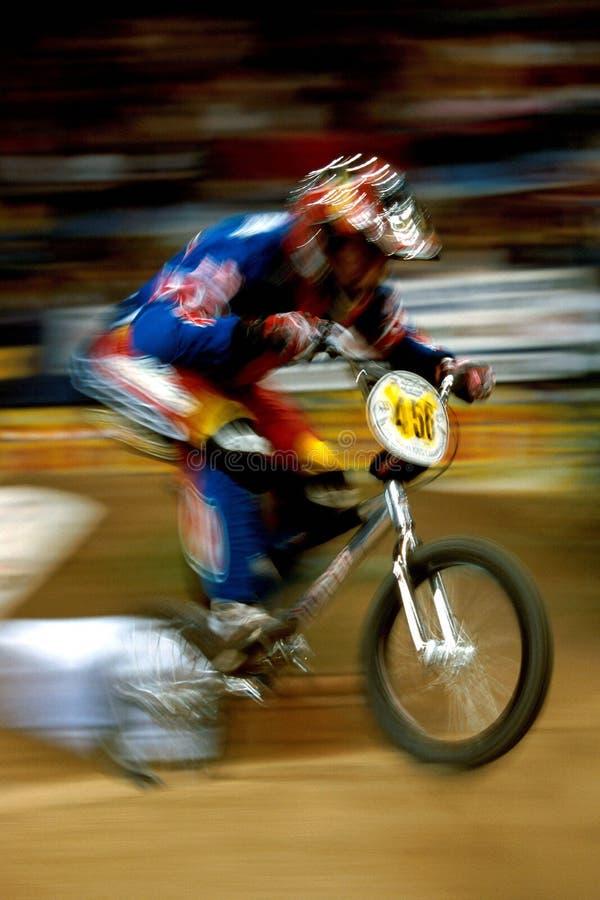 BMX motorcross 01 royalty-vrije stock afbeeldingen