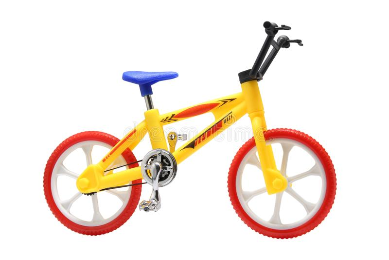 BMX roweru zabawka obrazy royalty free