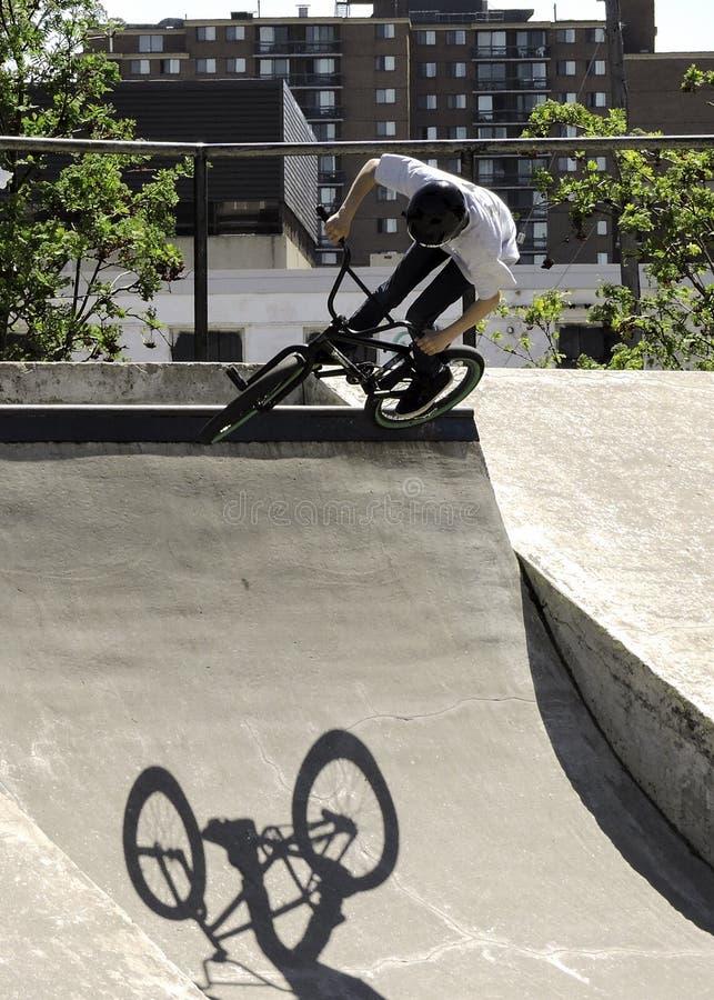 BMX-Spaßsport stockfoto
