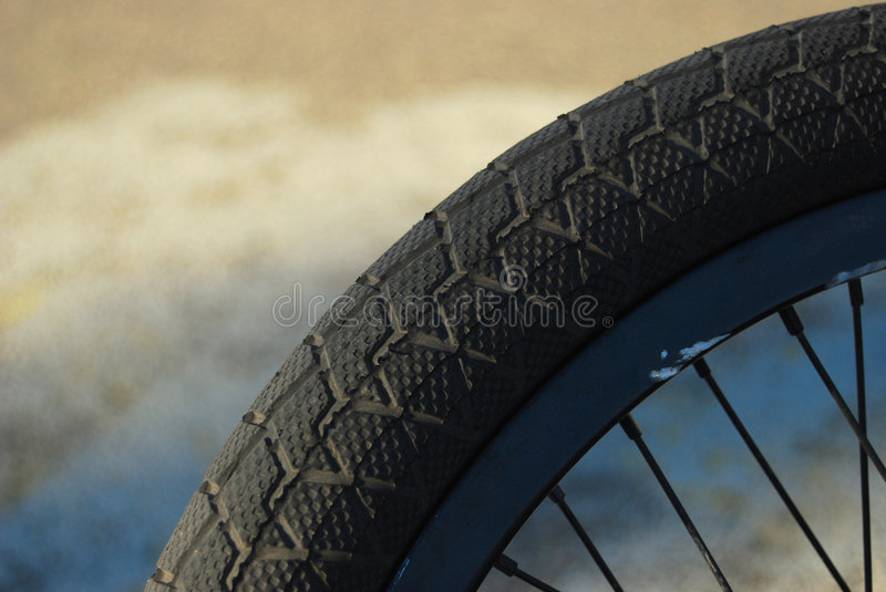 BMX Tire stock photo