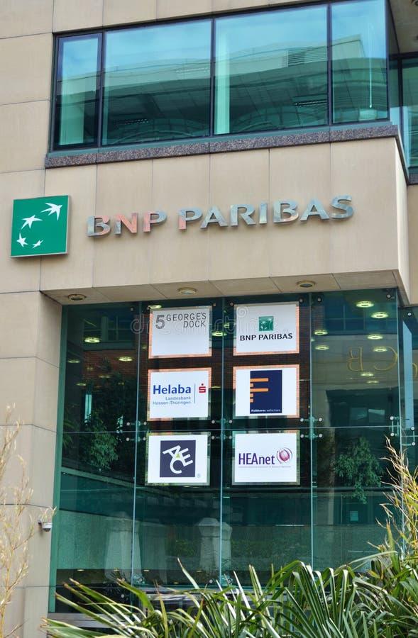 BNP Paribas lizenzfreie stockfotos