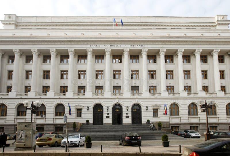 BNR - National Bank rumano fotos de archivo