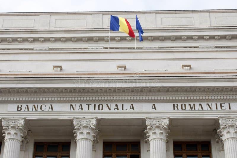 BNR - National Bank rumano fotos de archivo libres de regalías