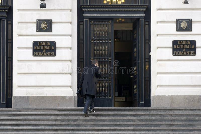 BNR - National Bank rumano imágenes de archivo libres de regalías