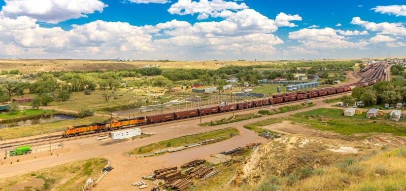 BNSF货物联盟&设施 库存照片