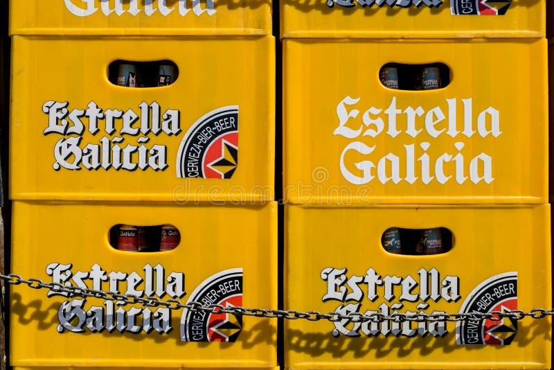 Boîte à bière images libres de droits