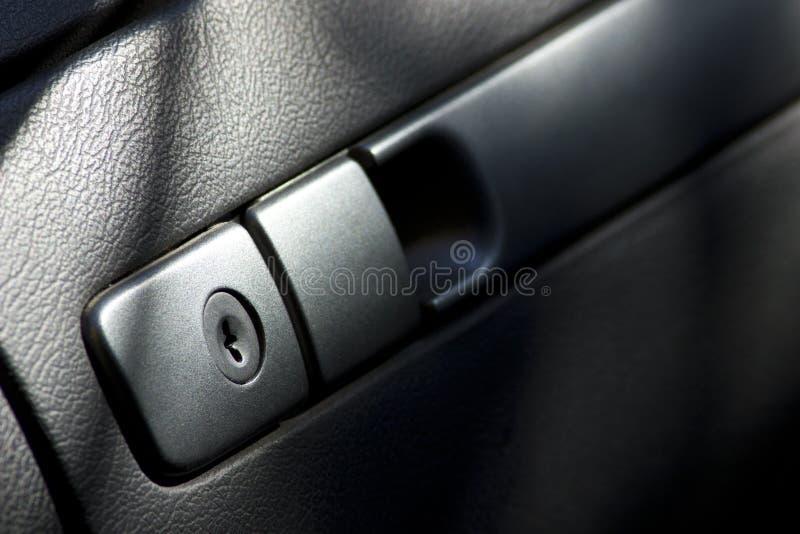 Boîte à gants fermée de véhicule photo libre de droits