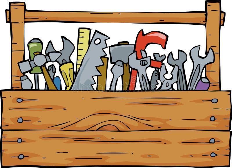 Boîte à outils illustration de vecteur