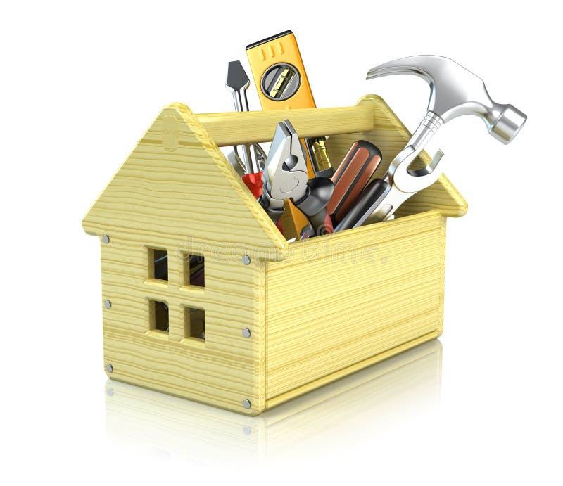 Boîte à outils de Chambre illustration stock