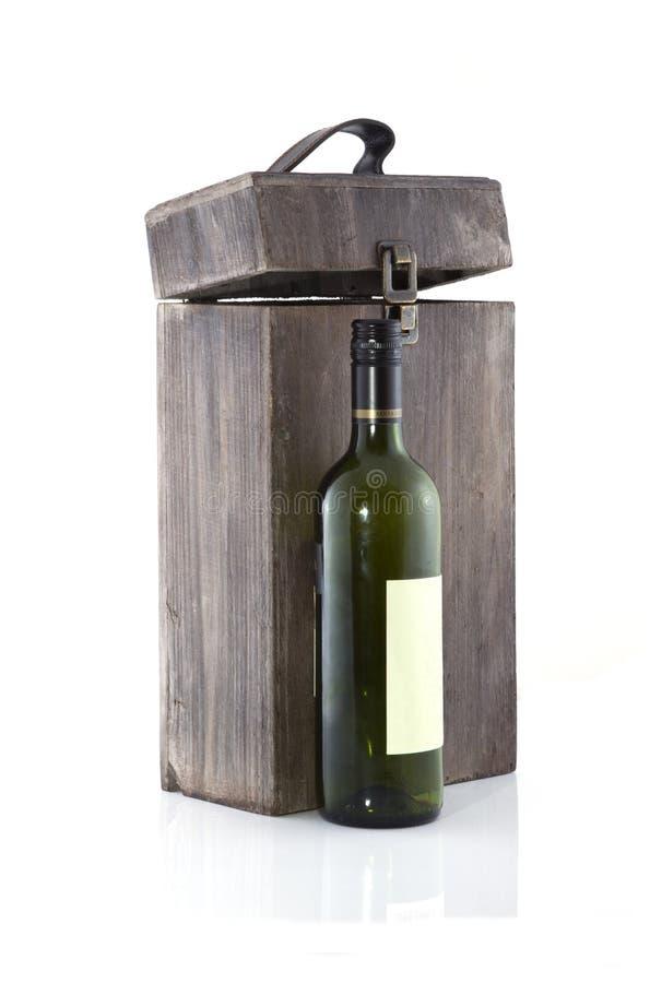 Boîte à vin photos stock