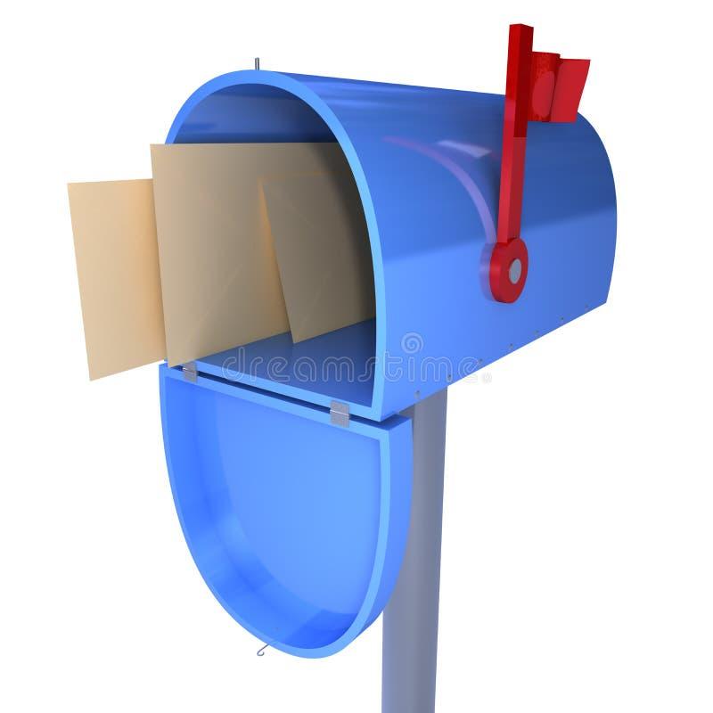 boîte aux lettres illustration libre de droits