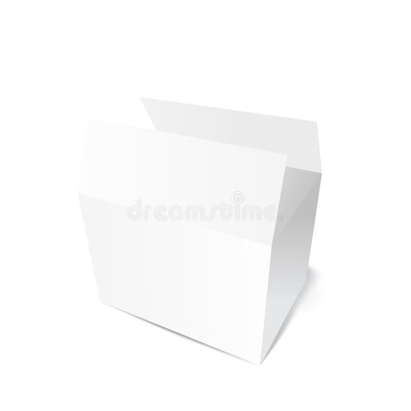 bo te blanche de carton de cadeau illustration de vecteur image 49020328. Black Bedroom Furniture Sets. Home Design Ideas