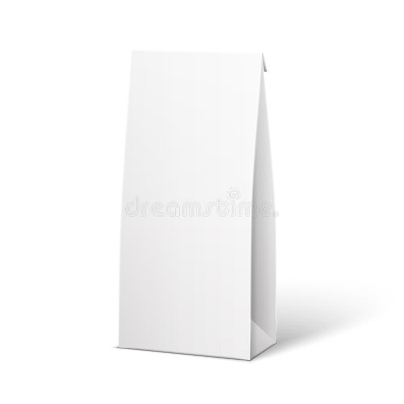 Boîte blanche de paquet de produit illustration libre de droits