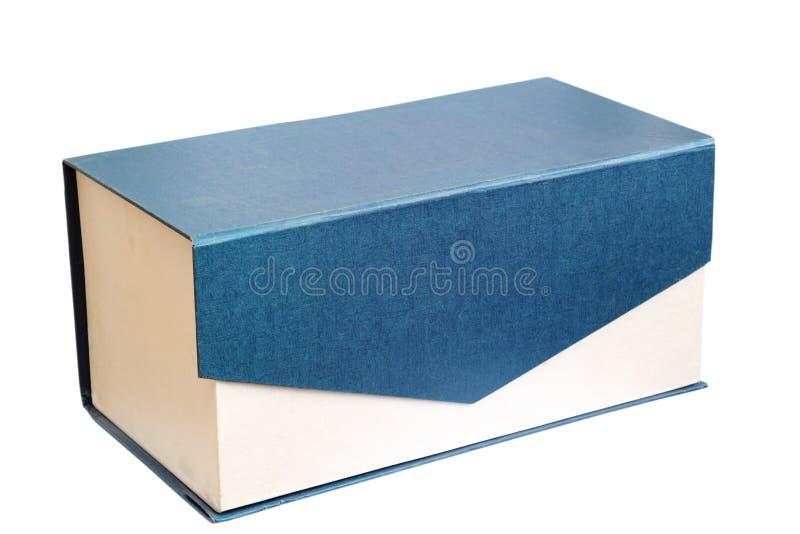 Boîte actuelle simple photos libres de droits