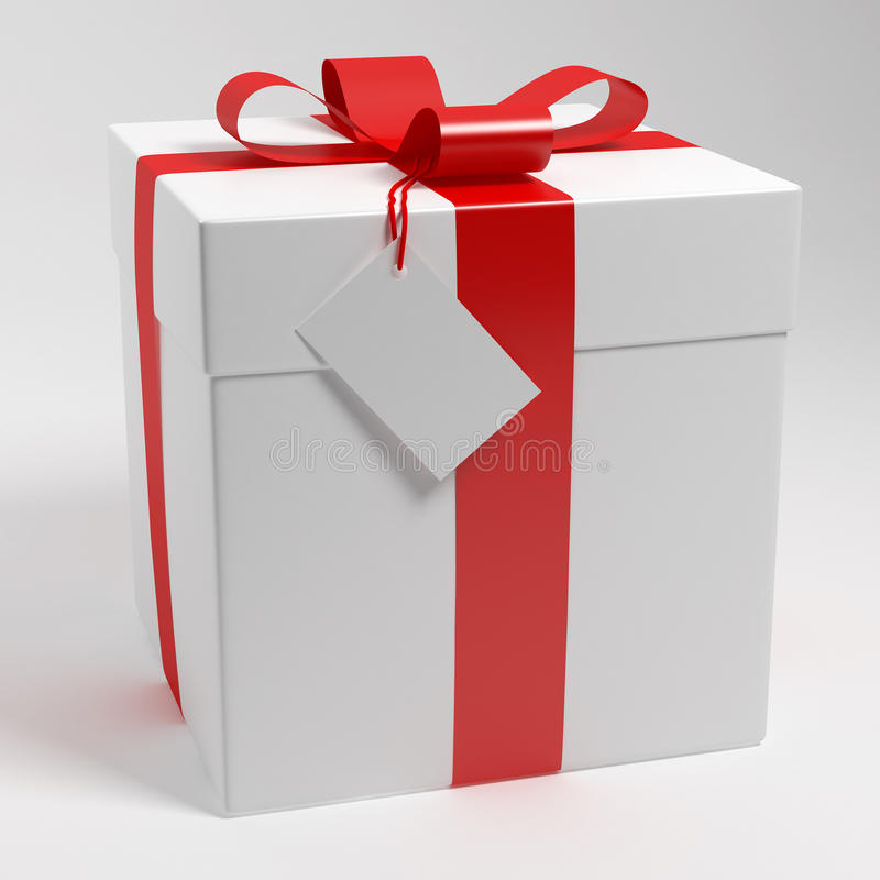 Boîte-cadeau illustration stock