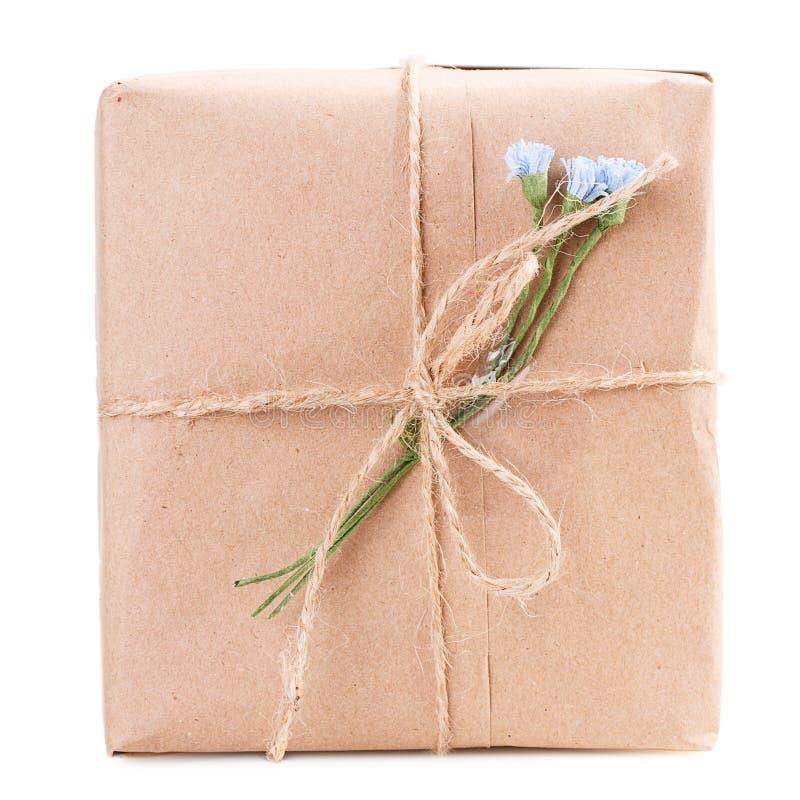 Boîte-cadeau de papier d'emballage photo stock