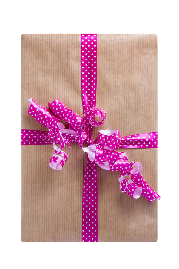 Download Boîte-cadeau De Vue Supérieure D'isolement Image stock - Image du célébration, occasion: 77162735