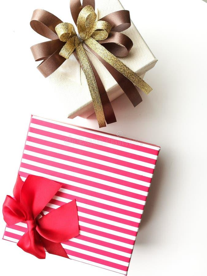 Boîte-cadeau pour le jour spécial photographie stock libre de droits