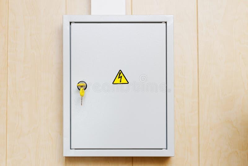 Boîte d'alimentation d'énergie photo libre de droits