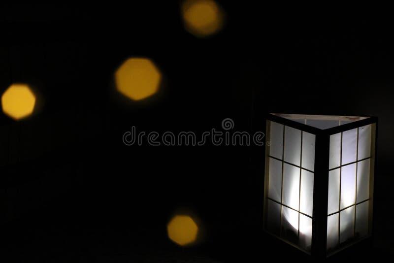 Boîte d'Iluminated photo stock