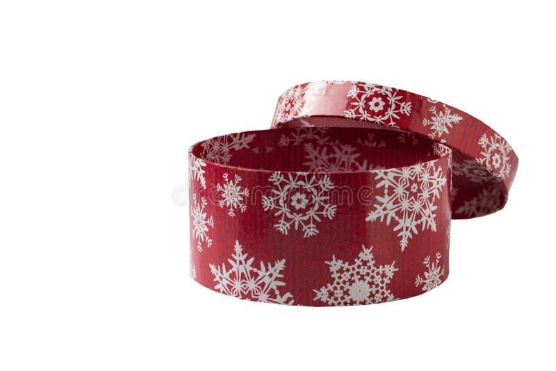 Boîte d'isolement pour des cadeaux de Noël images libres de droits