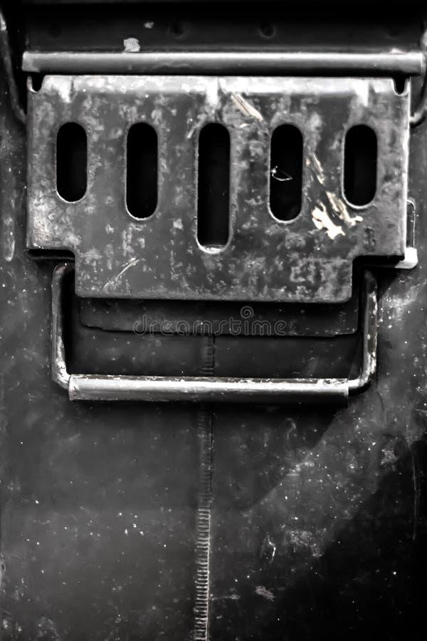 Boîte de balle image stock