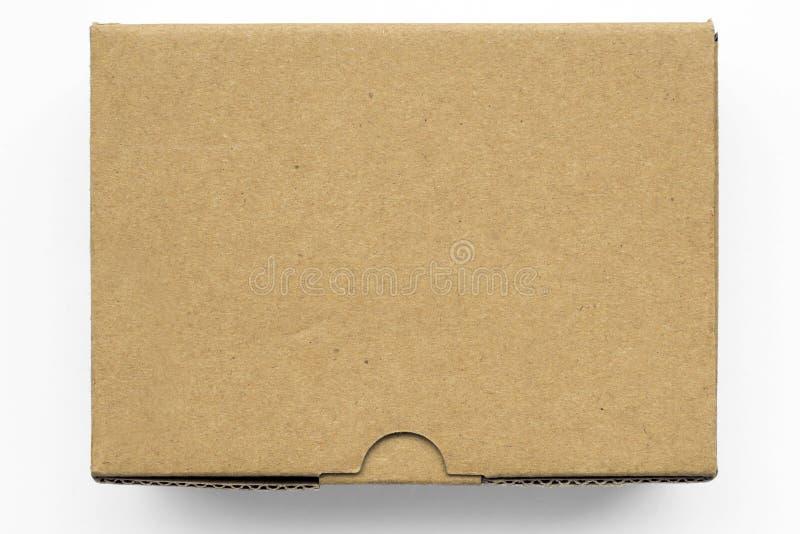 Download Boîte de carton image stock. Image du blanc, isolement - 45362463