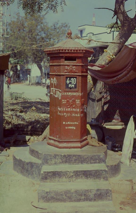 Boîte de courrier de cru, AP-Inde images libres de droits