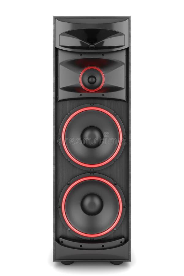 Boîte de haut-parleur de Ppower illustration de vecteur