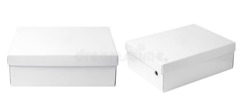 Boîte de livre blanc photo stock