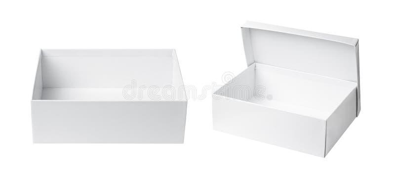 Boîte de livre blanc illustration libre de droits