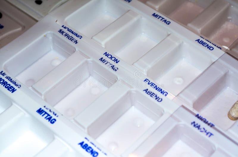 Boîte de médicaments photo libre de droits