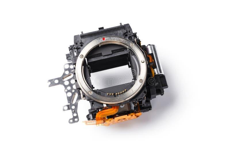 Boîte de miroir d'appareil photo numérique photographie stock